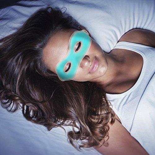 Estrés Refrigeración Relajante Máscara Migraña Caliente Frío Hielo Gel Congestión Para De Dolor El Alivio Nasal Cabeza Ojos Y Del w11RUa