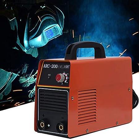 Yogasada ARC-200 Inverter DC DC Soldadora 180-240V Todo Cobre Núcleo Hogar Miniatura Máquina de Soldadura Eléctrica: Amazon.es: Hogar