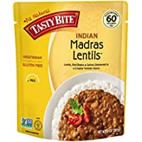 6 Pack Tasty Bite Indian Entree Madras Lentils 10 Ounce