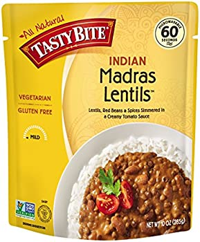 6-Pack Tasty Bite Indian Entree Madras Lentils, 10 Ounce