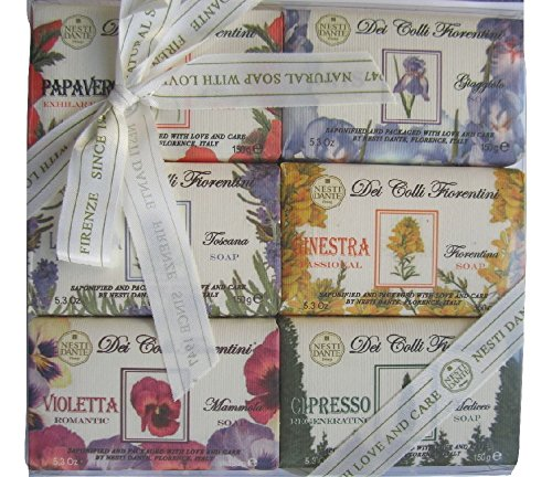 Nesti Dante Dei Colli Fiorentini Set of 6 150g each
