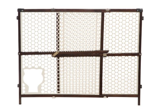 Amazon Com Safety 1st Baby And Pet Gate Brown Indoor Safety