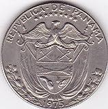 1975 Panama Medio (Half) Balboa Coin - Large Coin