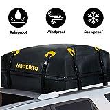 Cargo Bag, Namotu 15 cu. ft Roof Top Cargo Bag Waterproof Car Top Carrier Works with Side Rails, Cross Bars or Rack