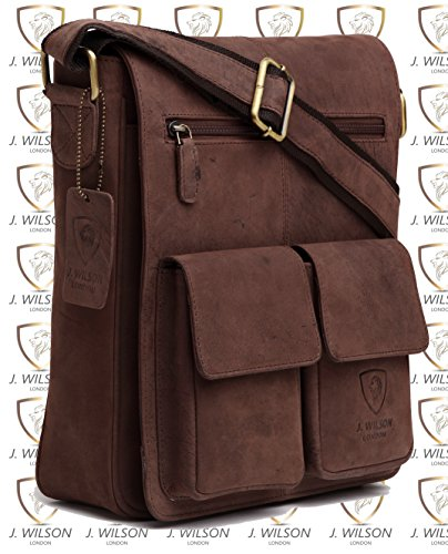 Hunter Vintage Mens Crossover Shoulder Bag Messenger 100 Work Real Women Leather Everyday Handmade Flapover Genuine Pure Ipad Hq7twWI0