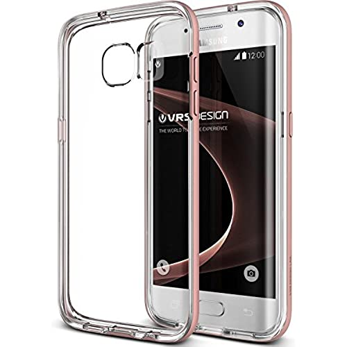Galaxy S7 Edge Case, VRS Design [Crystal Bumper][Rose Gold] - [Clear Cover][Military Protection] For Samsung S7 Sales