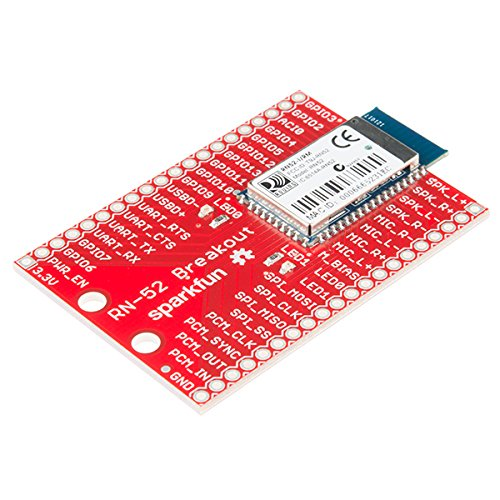 Bluetooth Wrls - Sparkfun Audio Bluetooth Breakout - Rn-52