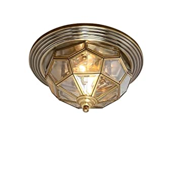 E27 Vendimia sala Corredor Lámpara de techo estilo americano ...