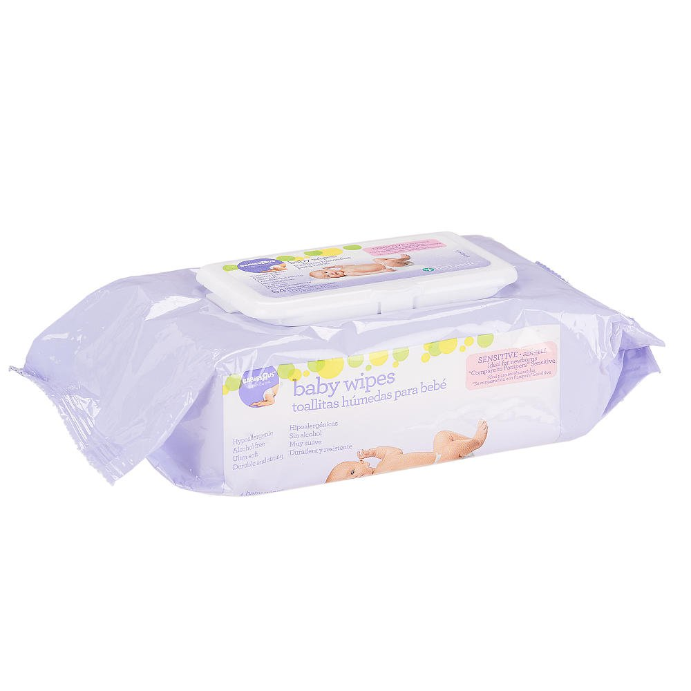 Amazon.com : Babies R Us - Sensitive Unscented Baby Wipes Soft Pack 64 Count : Baby