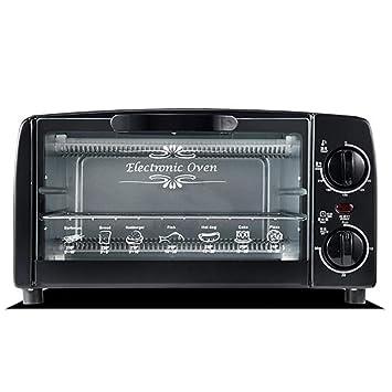 Freshvine 10L Mini Ovens Black para Pastel De 4 Pulgadas, Pizza De ...
