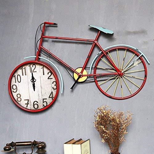 産業風レトロギヤ大きい壁掛け時計、壁の装飾は創造的な棒レストランの大きい壁掛け時計81-93CM(サイズ:59 * 93CM)を個人化しました 59*93CM  B07SS2R6ZC