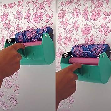 1 UNIDS 5Decoraci/ón Patr/ón 3D Rodillo///Estampado En Relieve/Pintura Goma Rodillo Manga Pared Textura Stencil Cepillo Papel Tapiz Decoraci/ón/082Y