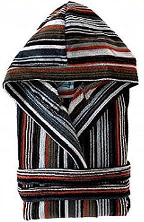 Ajuar rizo Albornoz algodón Art Deco Gris Talla M: Amazon.es: Hogar