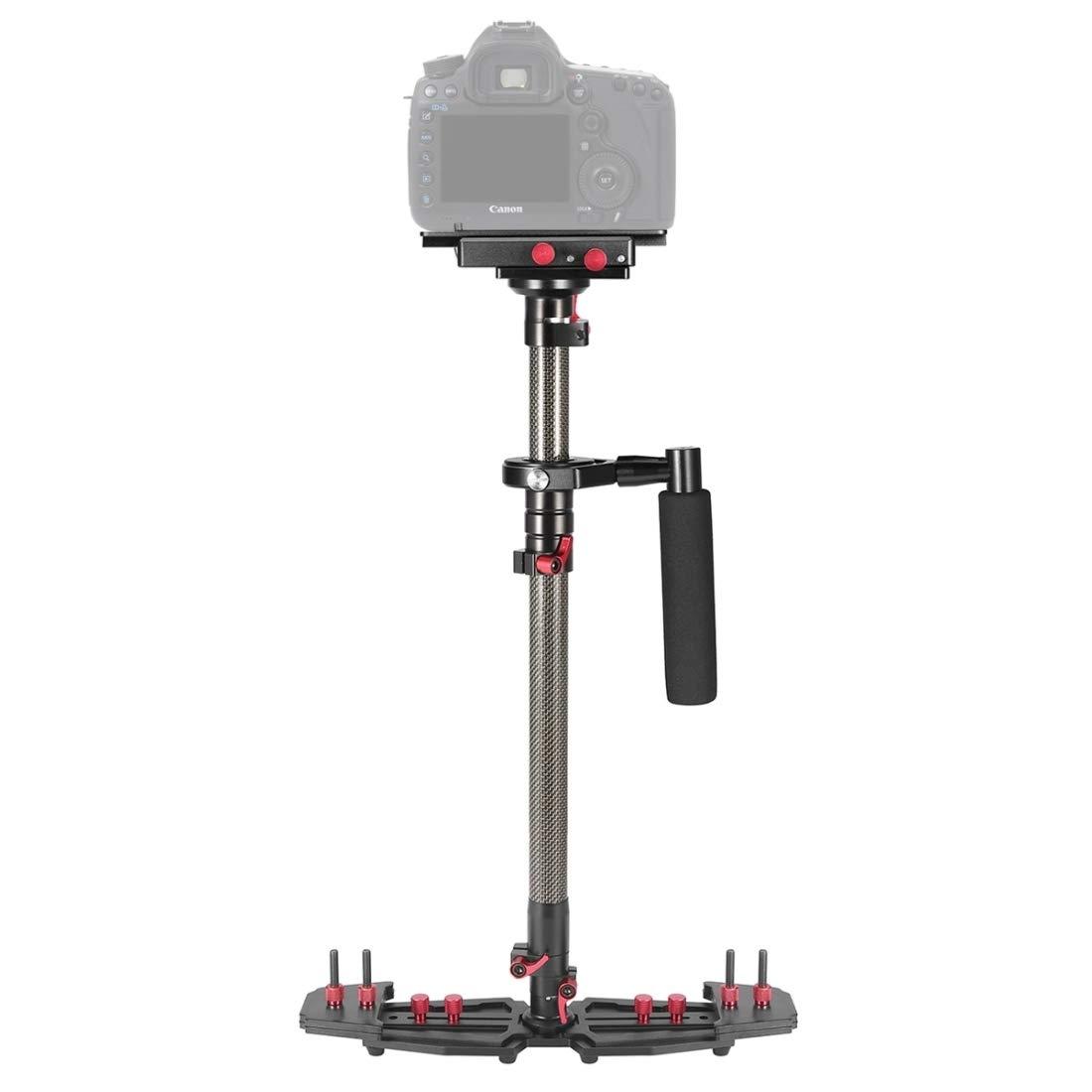 HD2000炭素繊維ハンドヘルドハンディテーブルスタビライザー互換カメラビデオカムコーダー   B07P7GRZD5