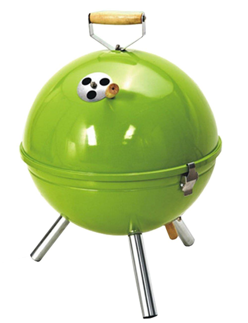 Herrenchwear Eisen sphärische Outdoor Portable BBQ Camping Grills 31cm 12
