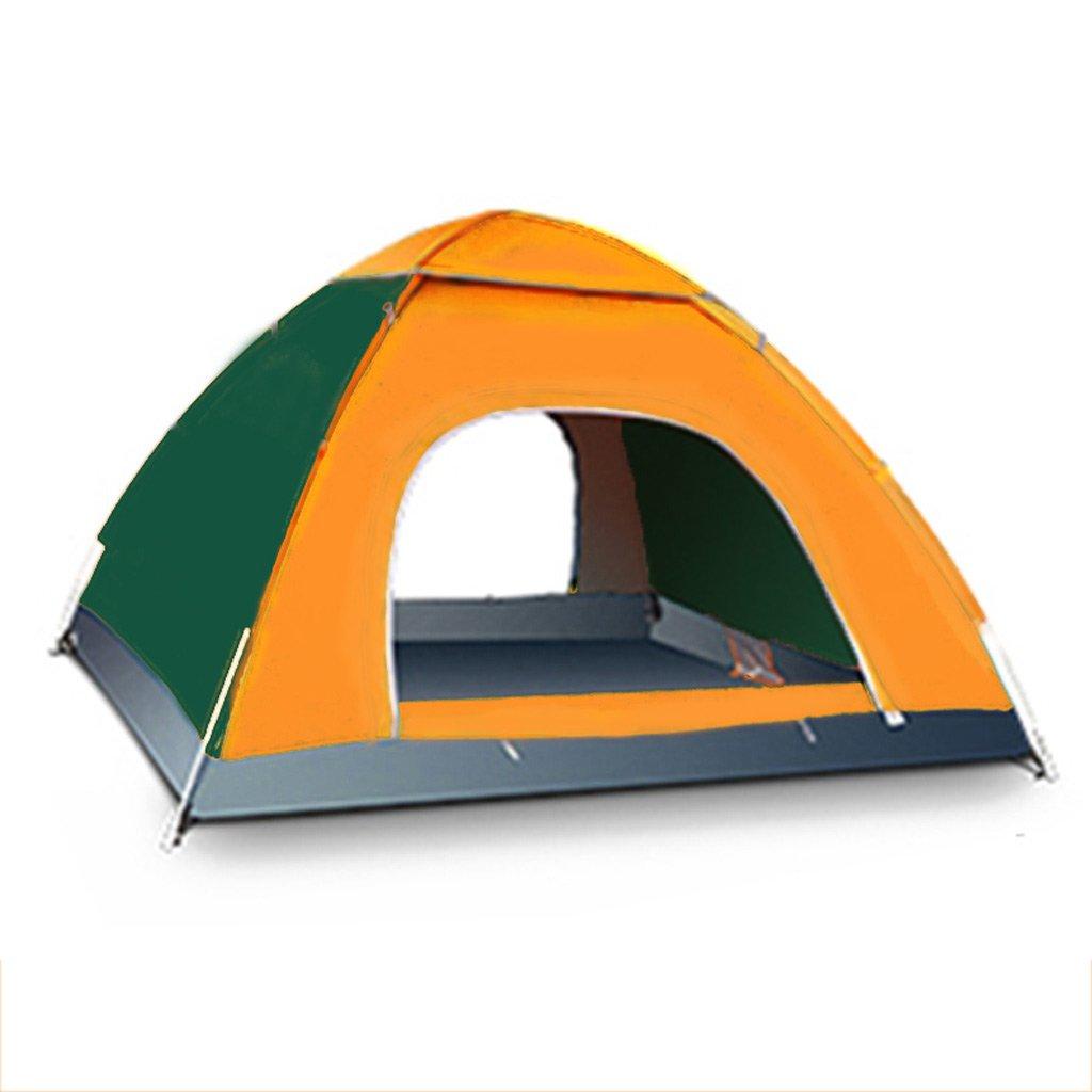 XY&CF Camping Zelt, tragbarer, Faltbarer Wasserdicht Outdoor Zelt Wandern 3–4 Personen Kuppel Langlebig Camping