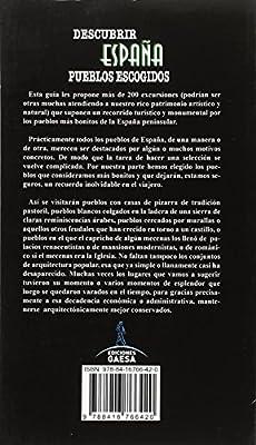 PUEBLOS ESCOGIDOS: LOS PUEBLOS MAS BONITOS DE ESPAÑA: Amazon.es ...
