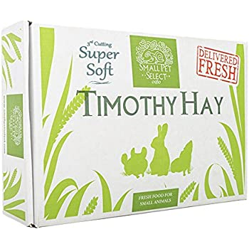 "Small Pet Select 3rd Cutting ""Super Soft"" Timothy Hay Pet Food, 10 lb."