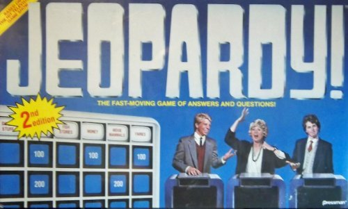 Jeopardy! Television Show Game (1986 - #5454 by Pressman)