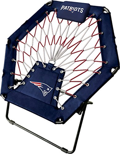Imperial Officially Licensed NFL Furniture: Premium Bungee Chair, New England Patriots