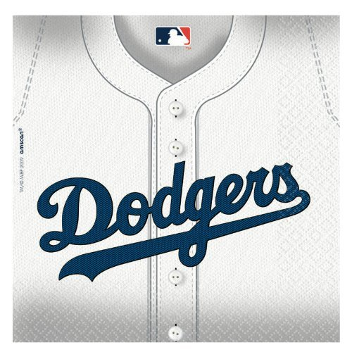 Los Angeles Dodgers Party Napkins - 36 Ct]()