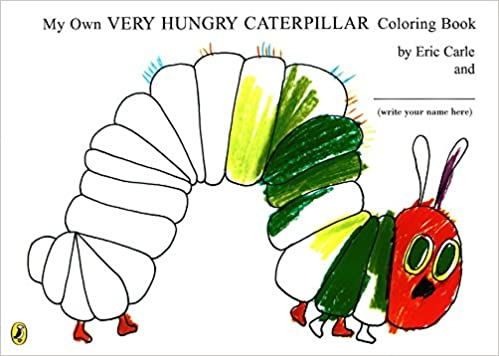 the hungry caterpillar coloring page – niagarapaper.co