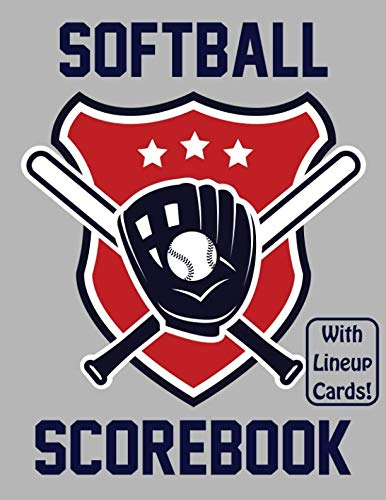 Innings Scorebook - Softball Scorebook With Lineup Cards: 50 Scorecards For Softball Games