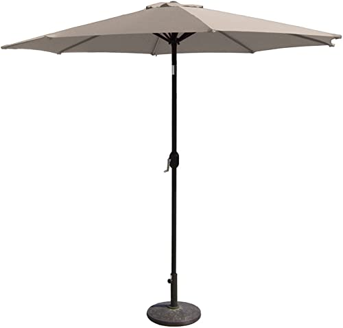 EmpireCovers PATUA2200R 8 Foot High Aluminum Patio Umbrella