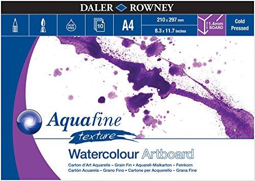 Daler Rowney Aquafine Watercolor - Daler Rowney Aquafine Artboard A4