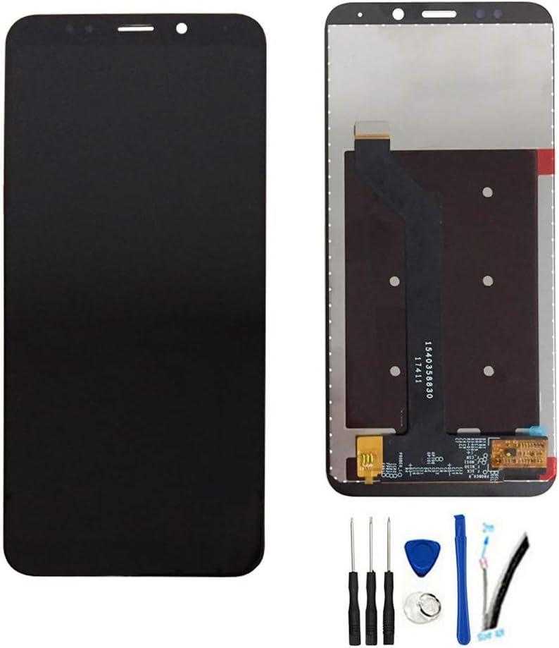 SOMEFUN LCD Visualización Digitalizador Pantalla táctil Vidrio Panel Montaje Reemplazo para Xiaomi Redmi Note 5 / Redmi 5 Plus 5.99