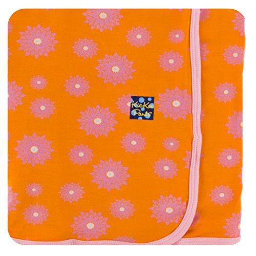 KicKee Pants Print Swaddling Blanket, Sunset Water ()