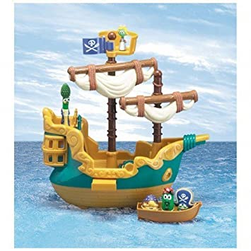 Veggie Tales Pirate Ship Playset Learning Education Amazon Canada