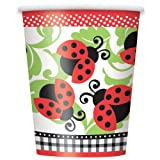 9oz Ladybug Party Cups, 8ct