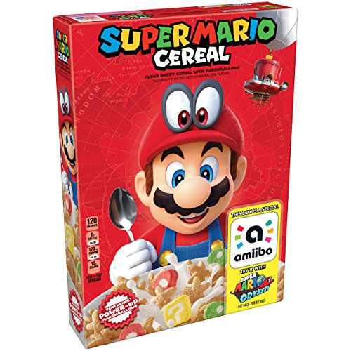 Kellogg's Super Mario Breakfast Cereal, 8.4 Ounce Box