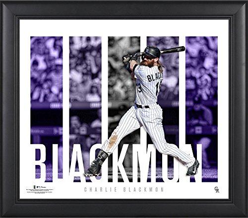 Charlie Blackmon Colorado Rockies Framed 15