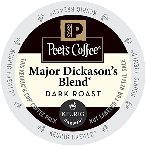 Peet's Important Dickason's Blend Coffee 44 K-Cups for Keurig Brewers