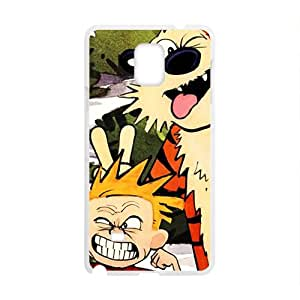 Naughty tiger and boy Cell Phone Case for Samsung Galaxy Note4