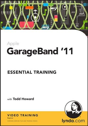 GarageBand '11 Essential Training: Todd Howard: 9781596717541