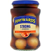 HAYWARDS STRONG & ZINGY TRADITIONAL ONIONS 400G