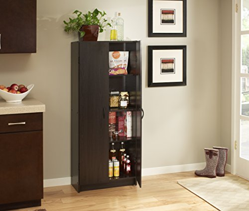ClosetMaid 1556 Pantry Cabinet, Espresso by ClosetMaid (Image #1)