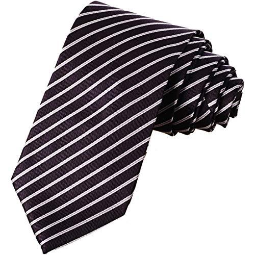 KissTies Solid Color Tie Mens Necktie Wedding Ties + Gift Box