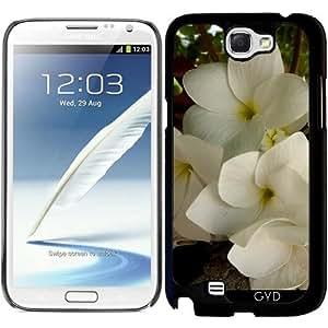 Funda para Samsung Galaxy Note 2 (GT-N7100) - Flor Asiática by Marina Kuchenbecker