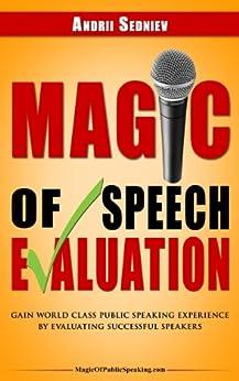 Magic Speech Evaluation Experience Evaluating ebook
