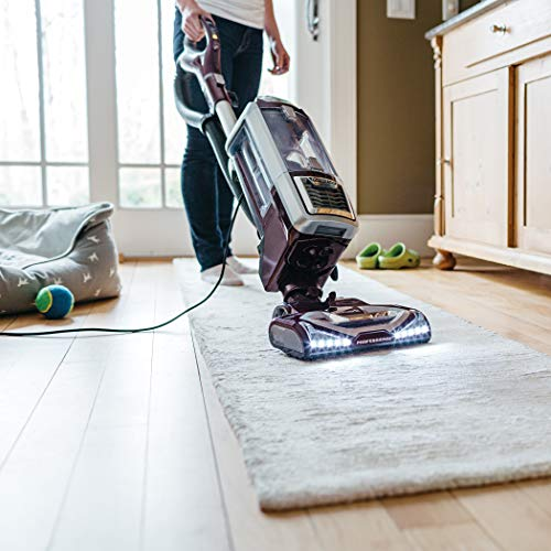 Shark Rotator Powered Lift-Away TruePet (NV752) Upright Vacuum, Mini-Motorized Brush, Bordeaux