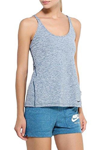 Nike Womens Dri-Fit Training Tank Midnight Turquoise (X-Small) 829707-346 ()