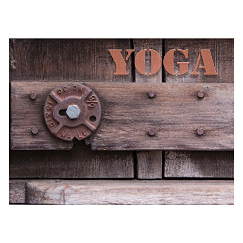 Additional Layer - Rustic Yoga-Print Only 16x20 Additional sizes available