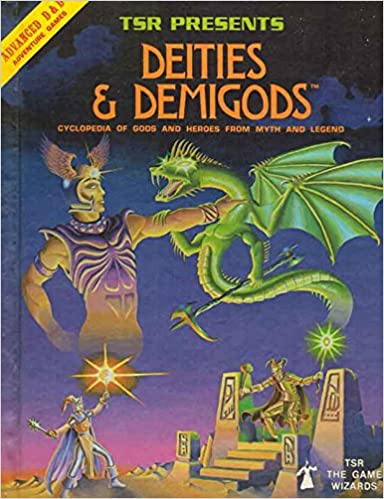 Deities & Demigods: Cyclopedia of Gods and Heroes from Myth and