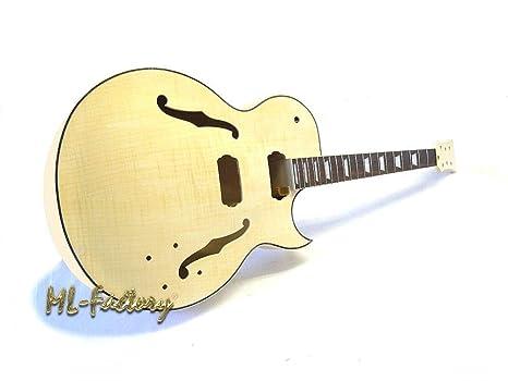 Guitarra Eléctrica/Guitar DIY Kit ML-Factory® MES Jazz: Amazon.es ...