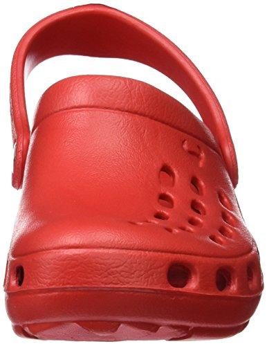 Suecos Unisex-Kinder Loki Pantoletten Rot (Red)