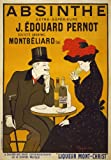 """AV59 Vintage 1900's French Absinthe Liqueur Drinks Advertisement Poster Re-Print - A4 (297 x 210mm) 11.7"""" x 8.3"""""""